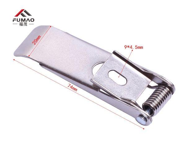 Custom 10Pcs 74mm Length Spring Clips for Recessed Lighting Led Panel Frame