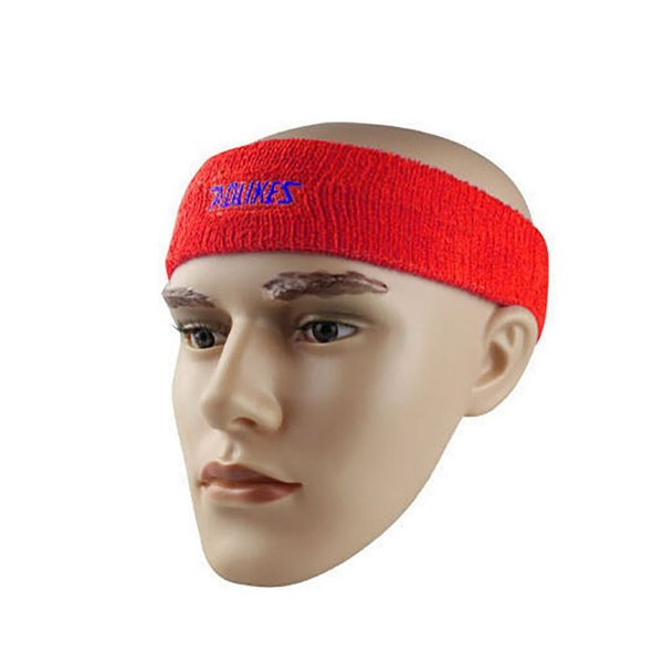 Hot AOLIKES High Quality Cotton Sweat Headband For Men Sweatband women Yoga Hair Bands Head Sweat Bands Sports Safety