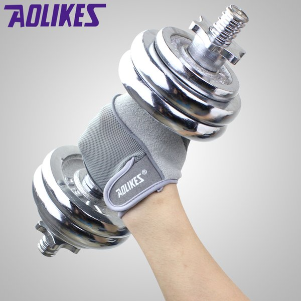 Gym Body Building Training Fitness Gloves Sports Equipment Weight lifting Workout Exercise Breathable Wrist Wrap Gloves