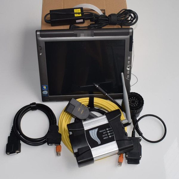 WIFI For BMW ICOM NEXT Diagnostic Tool with mini ssd 12/2018 with tablet LE1700 4g Replace ICOM A2