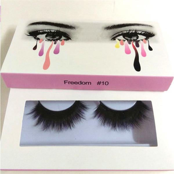 Hot sale False Eyelashes 20 models Eyelash Extensions handmade Fake Lashes Voluminous Fake Eyelashes For Eye Lashes Makeup free shipping
