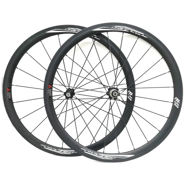 38mm Bicycle Wheels Tubular Front and Rear 700C Road Bike Wheelset UD Matt Novatec Hub Surface NGT Best Quality