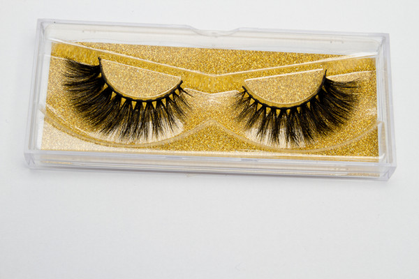2018 Seashine 16 Styles Selectable 13-16mm 1 Pair/box OEM&Private Logo Acceptable 3D Real Mink Hair Eyelashes Messy Eye lashes Extension