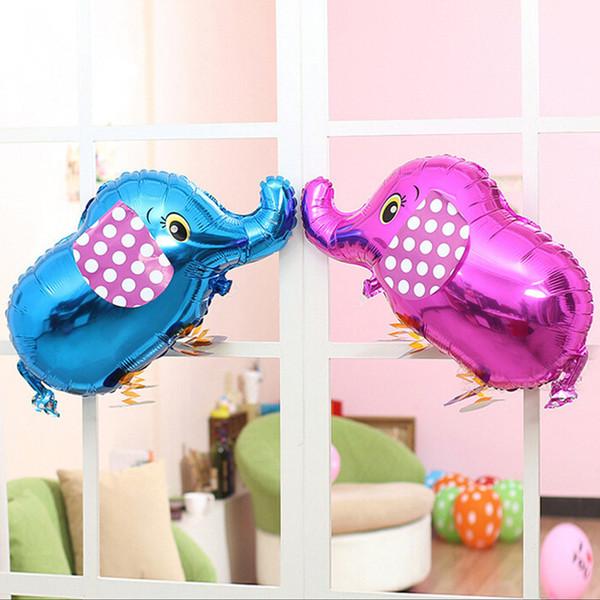 Nova Chegada Elefante Andando Balões de Estimação Animais baratos Crianças Balões De Alumínio kid Brinquedos Globos Balony Foil Balão