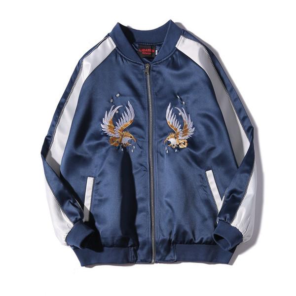 Fashion MENS Jacket Tide Brand Baseball Jackets Designer Jacket Animal Embroidery Dragon and Phoenix Etc Pattern Mens Jacket Couple
