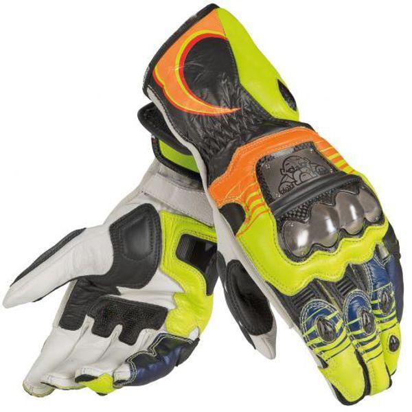 Dain Gloves Motorbike Racing MOTO GP Street Motorcycle  Yellow Gloves
