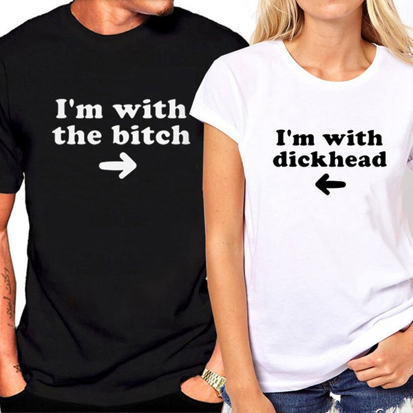 T-shirts assortis pour son couple et son t-shirt