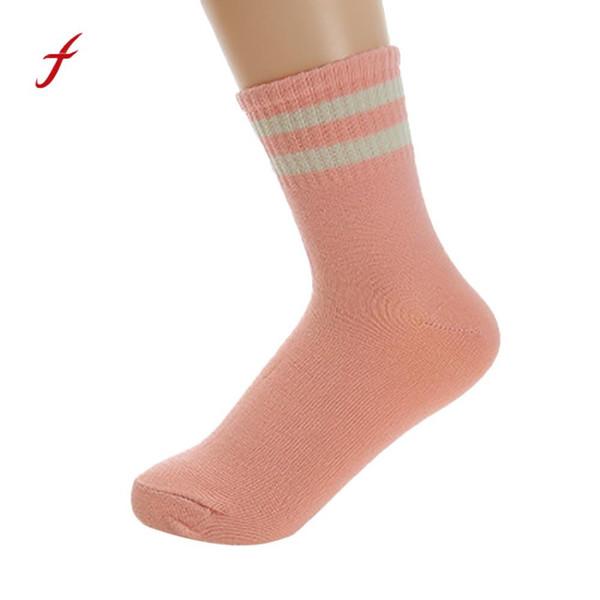 Harajuku cotone elasticizzato unisex carino striscia stella moda donna divertente calzino calzini comodi skarpetki kousen orap chaussettes