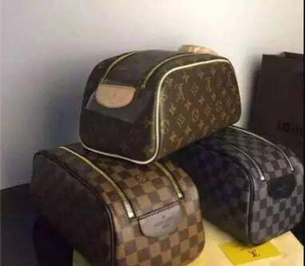 High end quality men travelling toilet bag fa hion de ign women large capacity co metic bag makeup toiletry bag pouch
