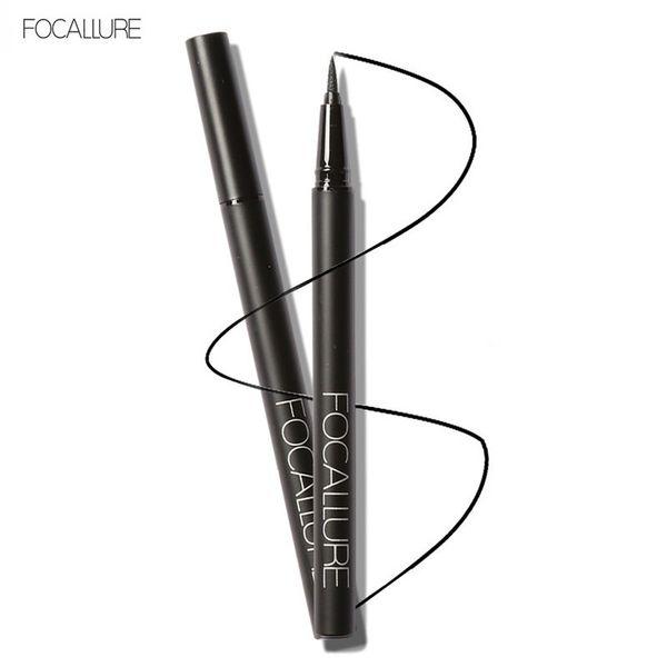 FOCALLURE Professional Liquid Thin Eyeliner Pencil 24 Hours Long Lasting WaterProof Makeup Beauty Cosmetic Eye Liner Paint Draw