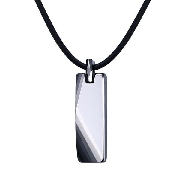 Classic Design Mens Tungsten Carbide Pendants Fasion Necklace Jewelry