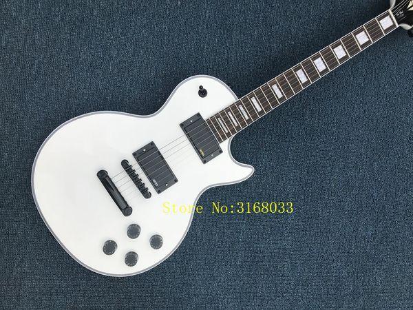 China Guitars White Custom Electric Guitar Mahogany Body OEM High Quality Best Selling