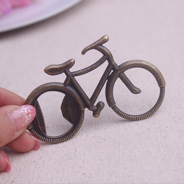 """Wedding Giveaways For Guest """"Let's Go On an Adventure"""" Bicycle Bottle Opener Party Favor Souvenir Kids Toy DDA418"""