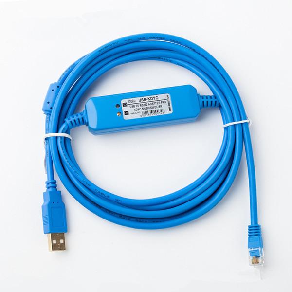 Anwendbar Koyo SN SM SH SR DL NK Serie SPS Programmierkabel Kommunikationsdaten Download-Linie USB-K Vergoldete Stecker mit einem magnetischen