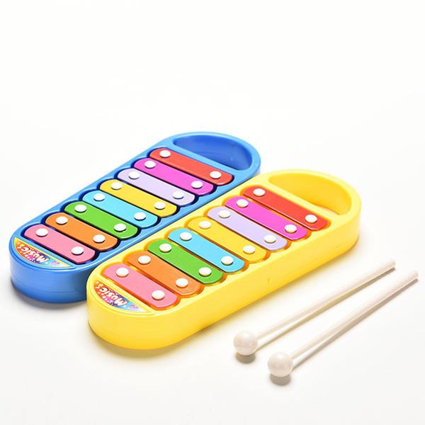 Neue Mode Verkauf Spielzeug Musikinstrument Baby Kind Kinder 8-Note Musik Spielzeug Geschenk Weisheit Smart Clever Development Musical Spielzeug