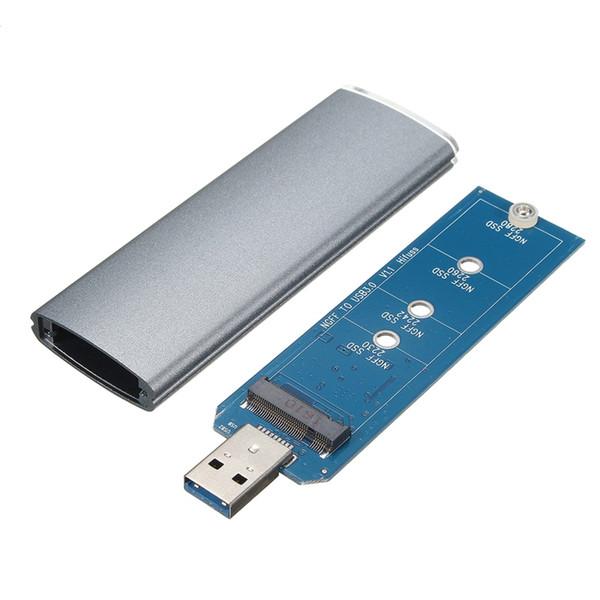 M.2 NGFF SSD SATA a USB 3.0 Adattatore per convertitore Custodia per custodia esterna Custodia con cacciavite