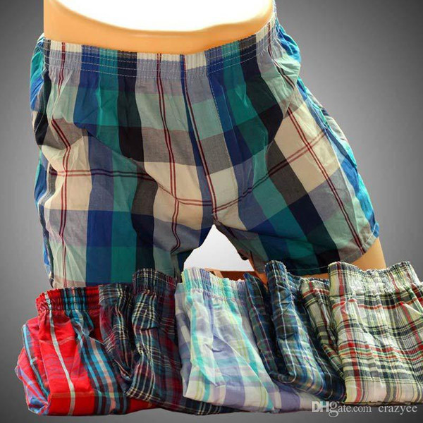 top popular 5pcs Lot Brand High Quality Sexy Mens Underwear Boxers 100%Cotton Calzoncillos Hombre Cueca Boxer Men Boxer Shorts Male Trunks 2021