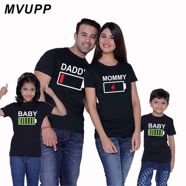 Купить Оптом MVUPP Family Look T Shirt Matching Clothes