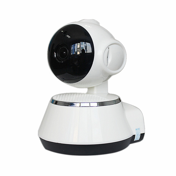 Pan Tilt Wireless IP Camera WIFI 720P CCTV Home Security Cam Micro SD Slot Support Microphone & P2P Free APP ABS Plastic