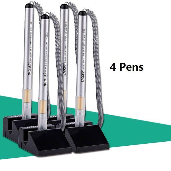 4 Stück Stifte Schwarz