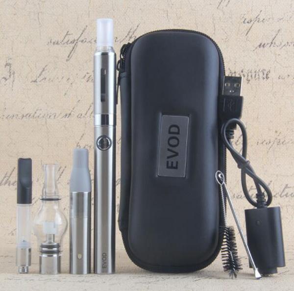 Nouveau EVod 4 en 1 Vape Pen avec Globe en Verre Simple Bobine De Coton MT3 CE3 Ago Dry Vaporisateur Starter Kit