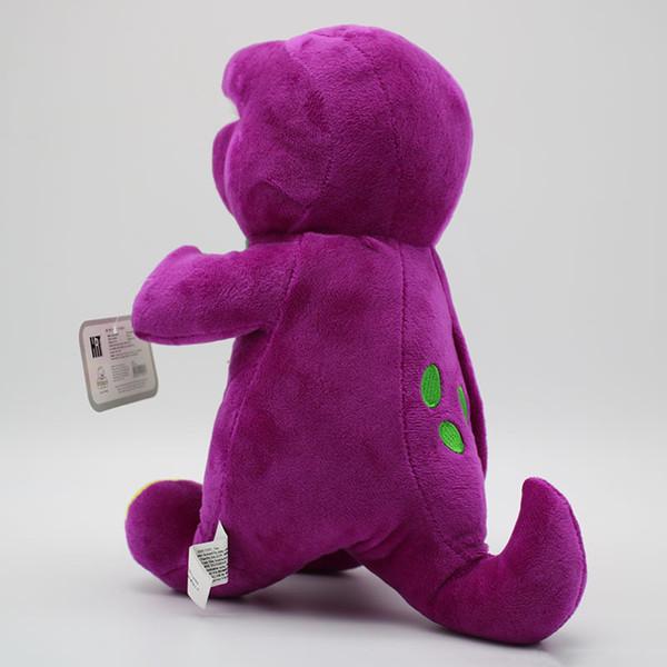 Singing Dinosaur Plush Doll Toy Gift For Kids Barney Colorful World Birthday Stuffed Sucker Present Hot Sale 17tz WW