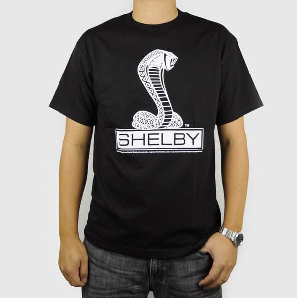Details zu SHELBY COBRA T-SHIRT AMERICAN CLASSIC MUSCLE CAR FORD MUSTANG BLACK AUTO Funny free shipping Unisex Casual tee gift