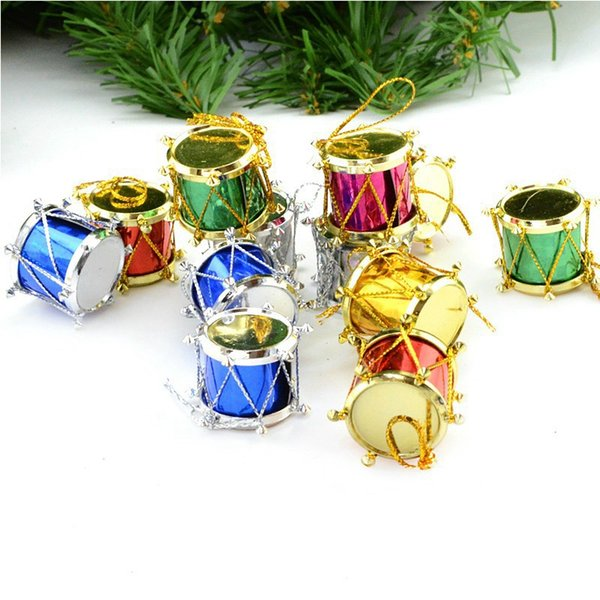 Christmas Drum.Hot Sale Mixed Color Mini Drum Christmas Decoration For Home Christmas Tree Hanging Decor Wedding Parties Tree Decor Ctd1 Buy Christmas Decorations