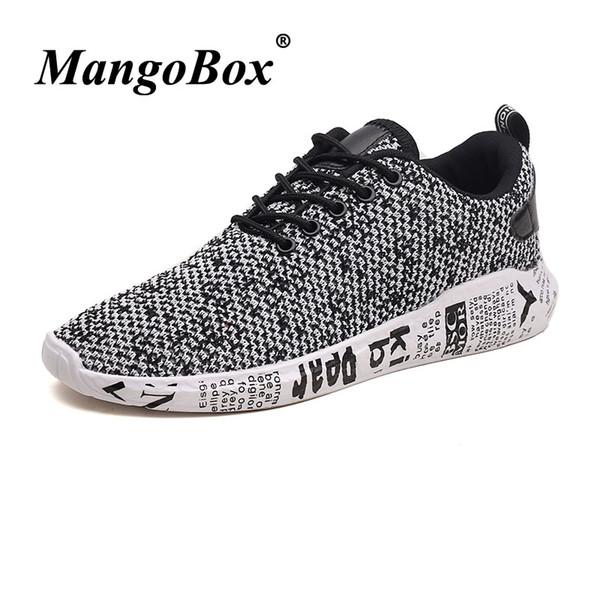 574402eb01 2018 Summer Athletic Zapatillas de deporte con cordones para hombre Fly  wire Gym Sneakers Gold Black Athletic Hombre Calzado Zapatos baratos