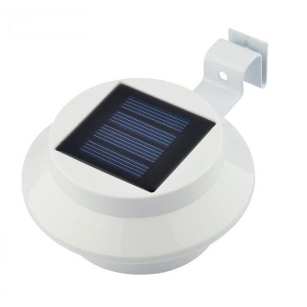 New Solar Wall Lamp Corridor Lighting Control Energy Saving Garden Lights 3 LED Outdoor Landscape Garden Lighting Waterproof