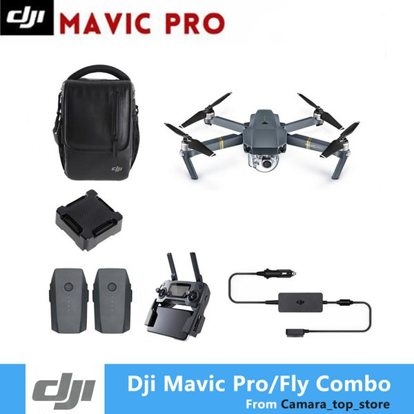 In Stock DJI Mavic Pro OcuSync Transmission FPV With 3Axis Gimbal 4K Camera Obstacle Avoidance RC Quadcopter Camera Drone