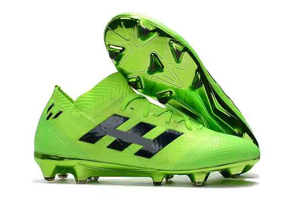 Botas dos homens Predator 18 18.1 Sapatos FG Nemeziz Messi 18.1 PureControl X Purechaos Nemeziz Messi 17.1 Acelerador De Precisão DB Chuteiras Ao Ar Livre