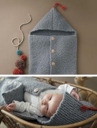 El más nuevo bebé hizo punto las mantas cálidas del saco de dormir Botón hecho a mano del niño del invierno Wraps Swaddling Bedding Cochecito Carro Swaddle Túnicas BHB67