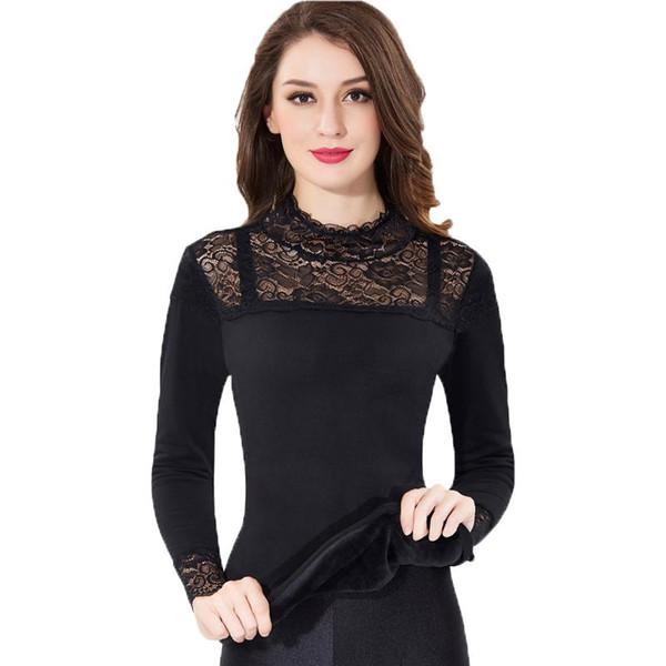 Women Winter Thermal Underwears New High Quality High Neck Slim Body Shaped Warm Long Johns Ladies Seamless Underwear