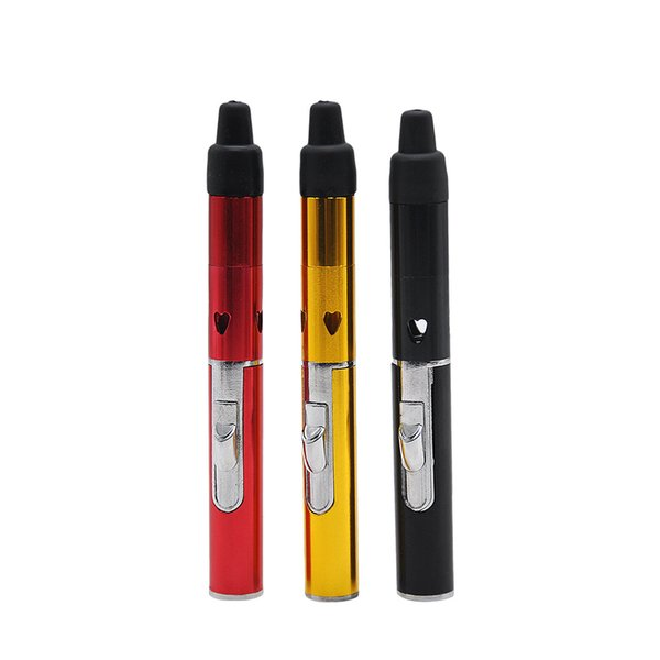 Click N Vape Herbal Sneak A vape smoking pipes Flame Lighter Wind Proof Torch lighters Factory Direct Shipping