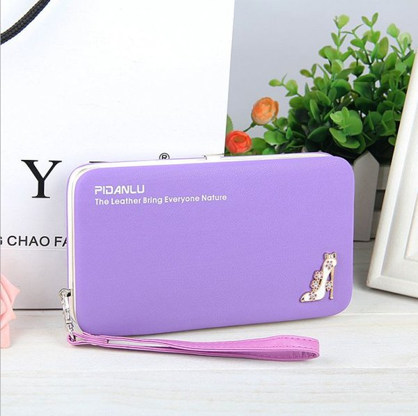 Luxury Women Wallet Phone Bag Leather Case For iPhone 7 6 Plus For Samsung Galaxy S7 Edge S6 Huawei Xiaomi Redmi (8 Color)