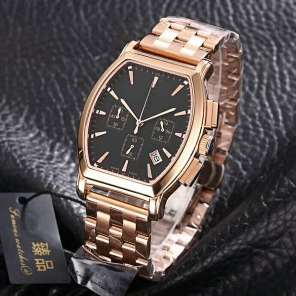 New men's watch automatic mechanical movement high hardness mineral crystal glass 316 fine steel case Classic Watch