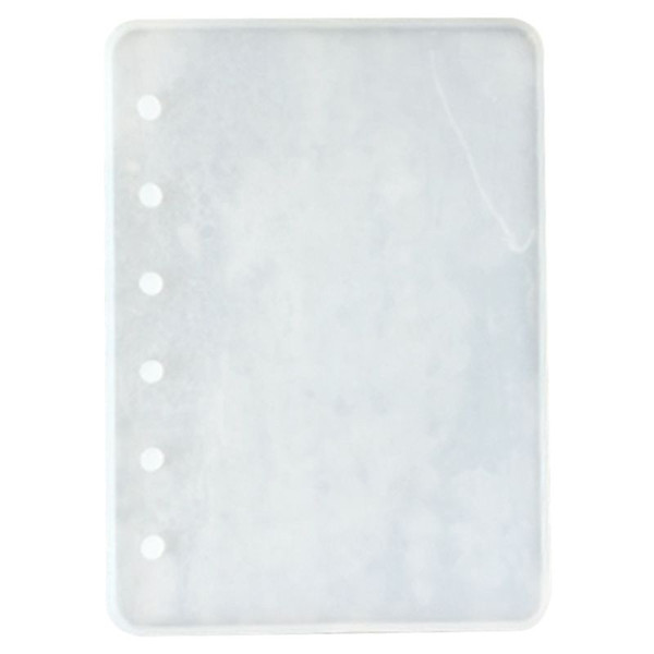 Notebook Shape Silicone Mold DIY Resin Book Mold Crystal Epoxy Silicome Transparent Book Silicone