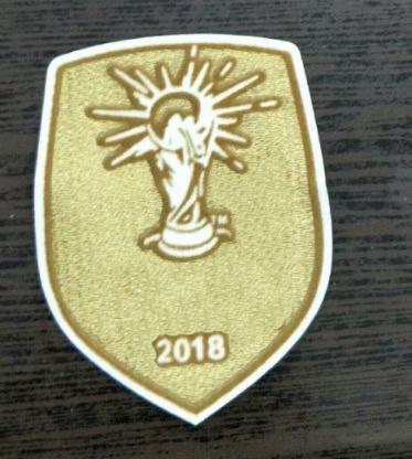 WC2018 Francia Champions Patch Francia Gold Chest Champions Patch 2018 Francia Campioni del mondo Patch Spedizione gratuita