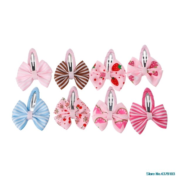 2018 Fashion Children Like beautiful Bow Hairpin Kid Children Barrette Pin Gum Baby Hair Clip Girls Hair Accessories