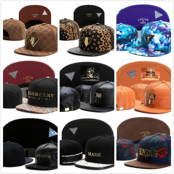 Ucuz siyah ayarlanabilir top CAYLER SONS snapbacks Şapka kemik snapback kapaklar Classics Cayler ve oğulları beyzbol şapkası sokak şapka