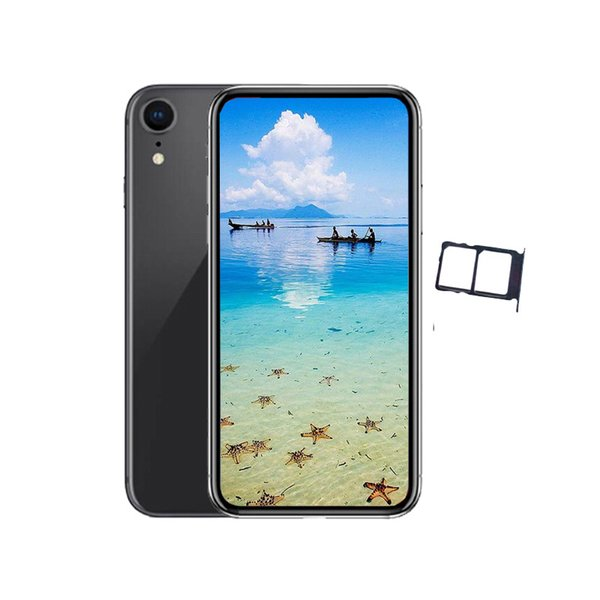 Andriod phone2018 i9 1GBRAM 4GB/8GBROM MTK6580 QuadCore 13MP 6.1inch 3G WCDMA FaceID Wireless Charge Dual SIM Sealed Box Fake 4G displayed