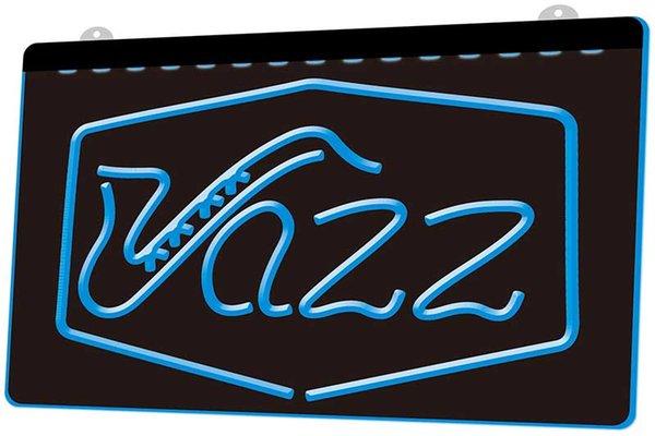 LS1014-b-Jazz-Stab-Musik-Live-Pub-Verein-NEU-Neonlicht-Sign.jpg Dekor-freies Verschiffen Dropshipping Großverkauf 8 Farben zum zu wählen