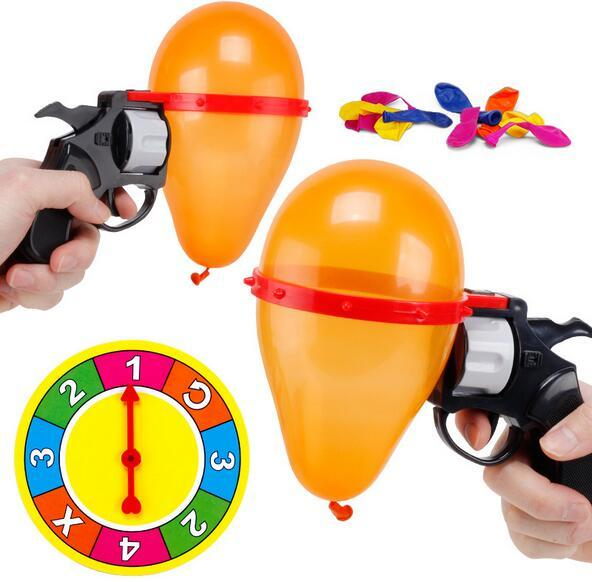 Funny Toys New Roulette Air Ball Guns Party Games Water Polo Gun Parties Interactive Games toys
