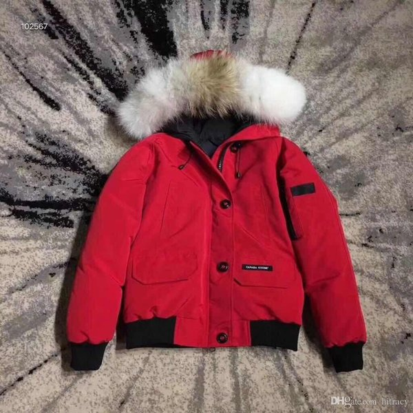 Goose Borden-Bomber women Men Parka Fashion Waist Down Jacket 90% White Goose Down Breathable Warm Hooded Jacket 003