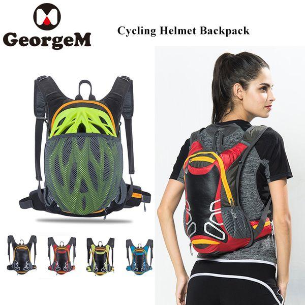 GeorgeM Fly Cycling Outdoor Sports Cycling Backpack Climbing Bag Helmet Storage Waterproof Travel Hiking Backpack For Helmet Bag