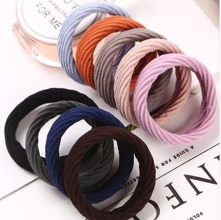 1PC Fashion Hair Rope New High Resilience Seamless Rubber Band Hair Accessories Girls Women Ponytail Elastic Hair Bands Hot Sale