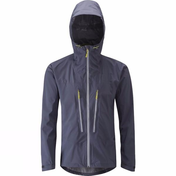 Männer Kapuzen Wasserdicht Wandern Atmungsaktiv Laufen Leichte Von Radfahren Mountaineer Regenjacke Shell Outdoor Großhandel Regenmantel Reise 2ED9HWYI