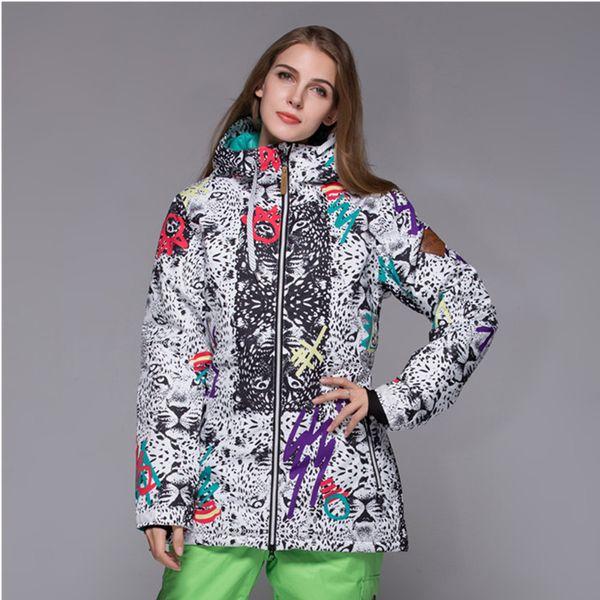 2018 Winter Gsou Snow Brand Snowboard Jacket Women Ski Jacket Coat Abrigos Mujer Invierno 2017 Veste De Ski Femme From Enhengha 20602 Dhgatecom