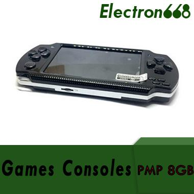 PMP 4GB 8GB handheld Game Console 4.3 inch screen mp4 player MP5 game player real 8GB support for psp game,camera,video,e-book NEW 100pcs